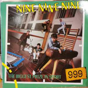 999 - THE BIGGEST PRIZE IN SPORT- Vinyl, LP, Album, Stereo - PLAK