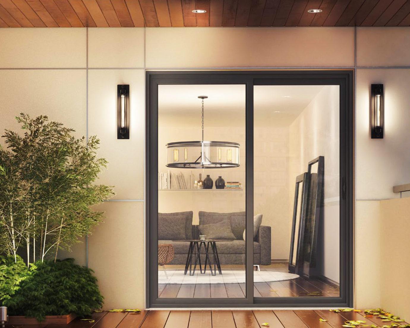 vinyl sliding patio doors