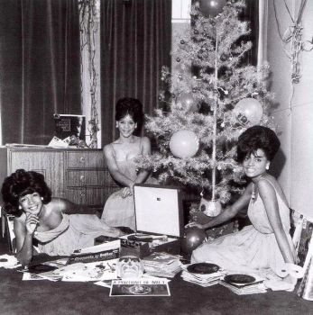Diana Ross, Mary Wilson and Florence Ballard