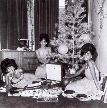 Diana Ross, Mary Wilson and Florence Ballard