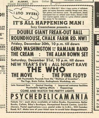 Melody Maker advert, 22 December 1966