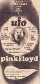 UFO advert, June 1967