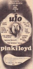 UFO advert, June 1967