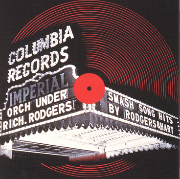 The World's First Record Cover / 'Smash Song Hits by Rodgers and Hart' by Richard Rodgers and the Imperial Orchestra, Columbia Records (1939). Photo: www.alexsteinweiss.com