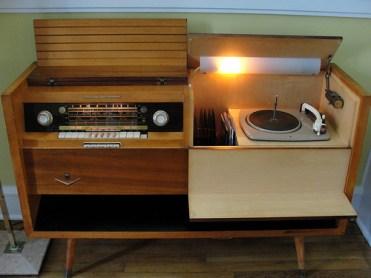 1957 Grundig Majestic Console Stereo