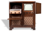 1949 Admiral home entertainment system