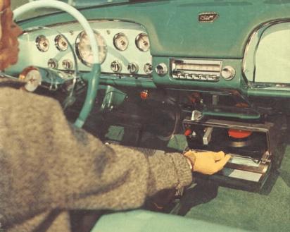 Highway Hi-Fi Car Record Player (1950s)
