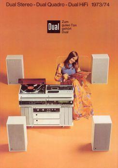 Dual Stereo - Dual Quadro - Dual Hifi 1973:74