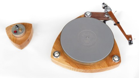 Unity One Turntable with Grace 747 Tonearm and Audio Technica AT 125 LC MM Cartridge