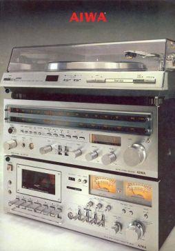 Aiwa HiFi Programm 1977-1978
