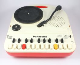Panasonic SG-123 Do-Re-Mi Portable Turntable & Mini Organ
