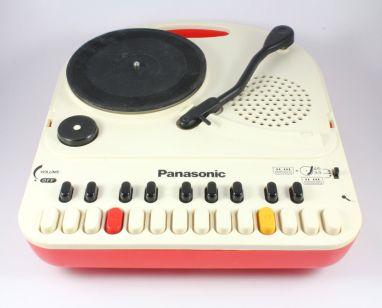 Panasonic SG-123 Do-Re-Mi Portable Turntable & Mini Organ