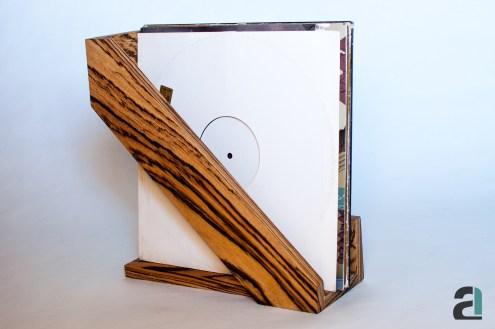 Vinyl Holder / Table / Zebran
