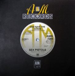 The Sex Pistols, 'God Save The Queen' canceled single — $20,000