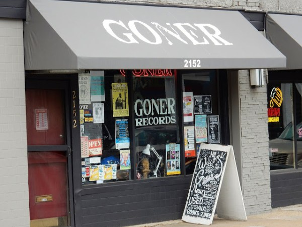 Goner Records - store front - Memphis Tennessee