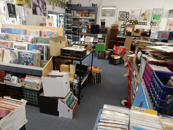 Mobile Records - store interior - Mobile Alabama