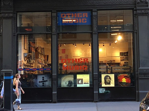 Other Music Greenwich Village New York Store Front