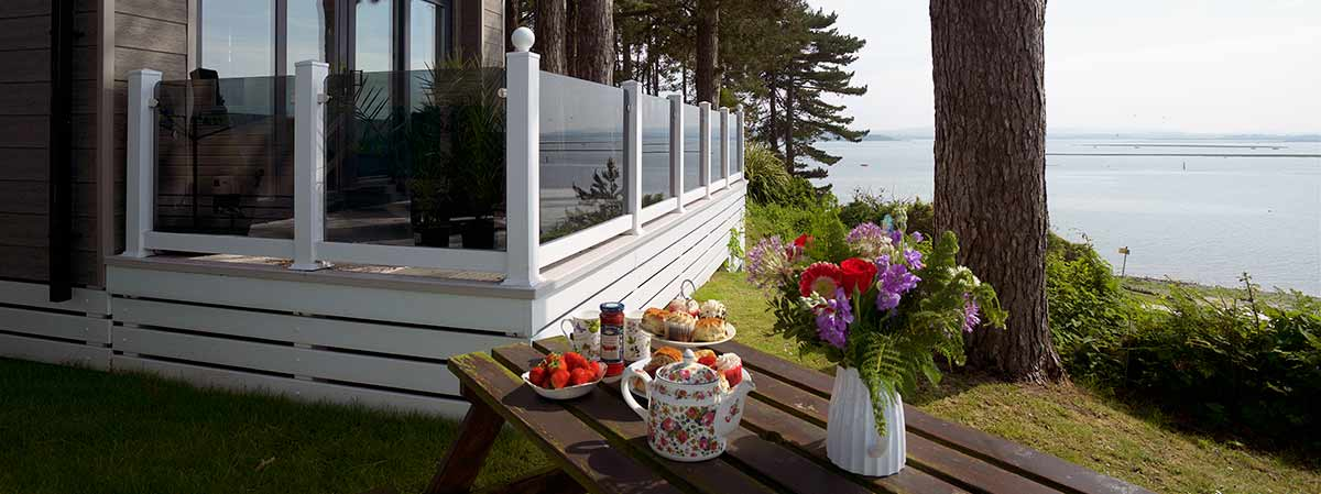 Lodge and Holiday Home Decking - Vinyl Solutions