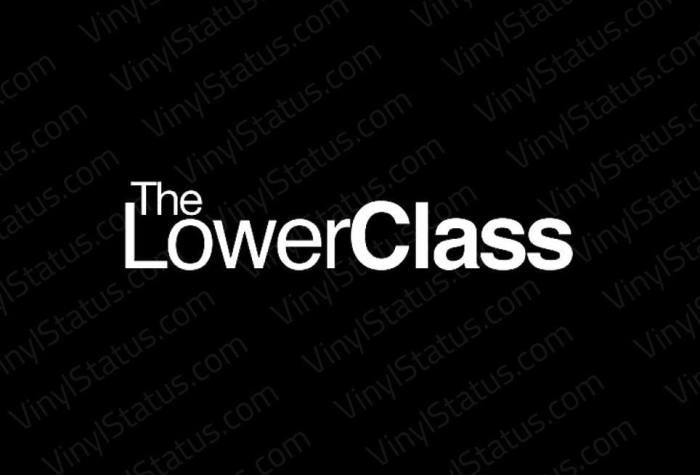 The Lower Class Sticker Tuner Jdm Lowered Slammed