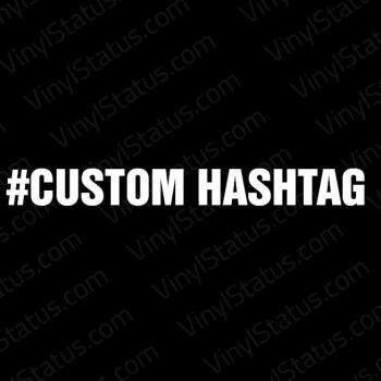 Custom-Hashtag