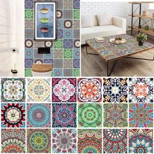 Vinyl Tile Squares are cute and versatile