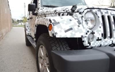 Jeep Full Wrap | Full Car Wrap Toronto | Full Vehicle Wrap