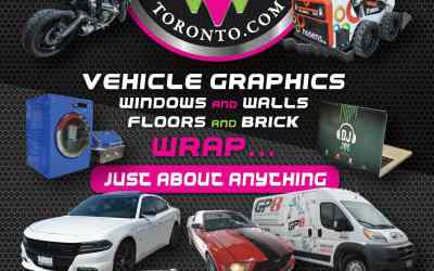 Vehicle Wrap Event Toronto! Win 500$ by Liking, Sharing and Follow us on Facebook.