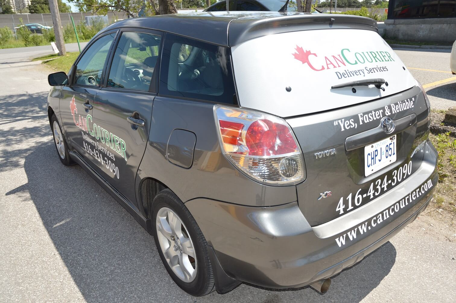 Car Lettering and Decal - Vinyl Wrap Toronto