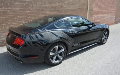 Ford Mustang Car Wraps
