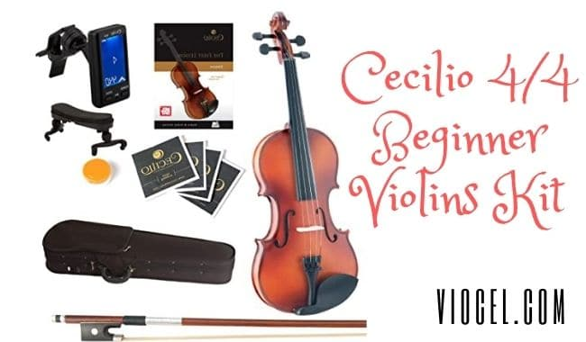 Cecilio 4/4 Beginner Violins Kit