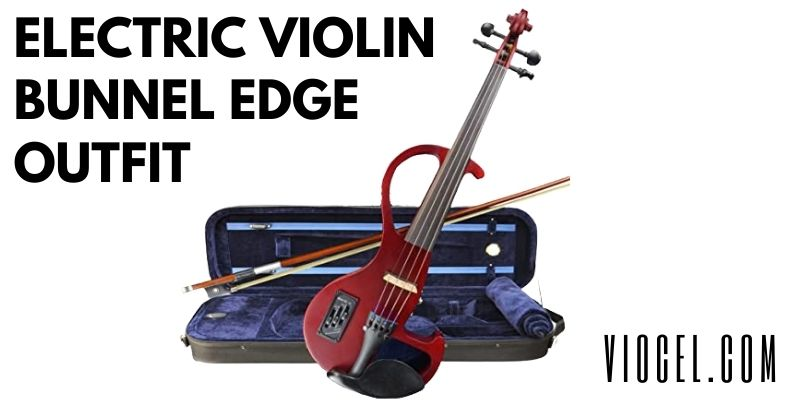Kennedy Violins Electric Violin Bunnel Edge Outfit