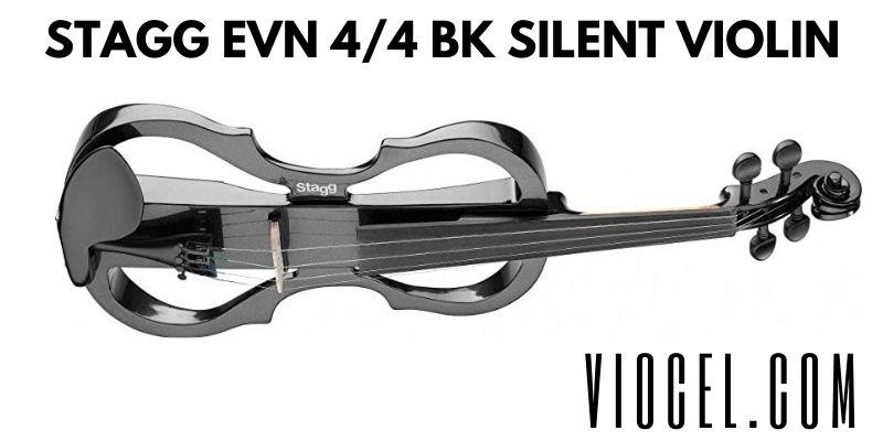 Stagg EVN 4/4 BK Silent Violin