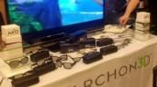 Marchon 3D Sunglasses at CES 2011