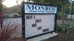 A picture of Monroe school in Santa Barbara.
