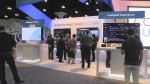 A picture of the Comcast booth at the Cable Show 2014
