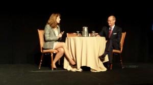 Shirley Bloomfield of NTCA interviews Jeff Gardner of Windstream at the 2014 BroadbandVision Conference.