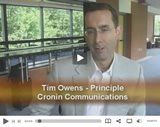Tim Owens of Cronin Communications talks of the Cell Phone Generation