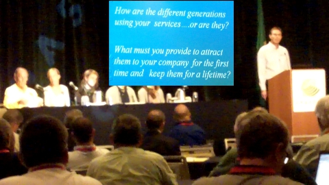 Consumer panel at OPASTCO's Summer Convention