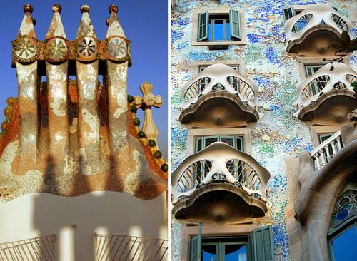 Casa Batllo Materials Used