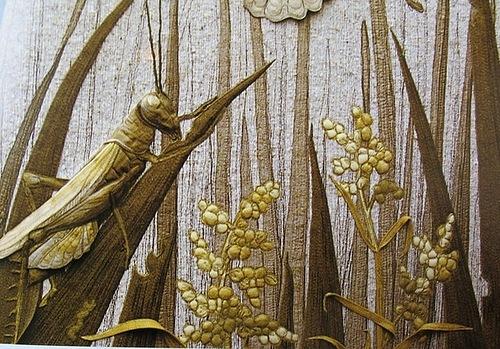 Realistic textile art by Australian artist Annemieke Mein