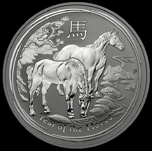 Perth horse silver coin