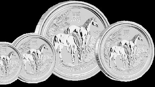 Perth Mint Gold Bullion Lunar Horses