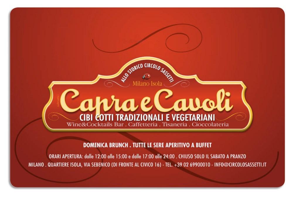 A cena da Capra e Cavoli (ex-Circolo Sassetti), quartiere Isola, Milano. (1/5)
