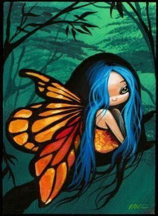 Tiny-Forest-Fairy-Art-Card