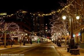 Downtown Denver Christmas Lights 1