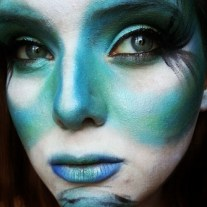 Alice in Wonderland Caterpillar make up