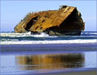 New-Carissa-Shipwreck
