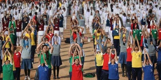 APTOPIX India Yoga