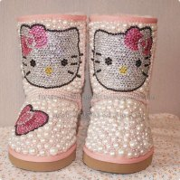 2012-children-kid-hello-kitty-pearl-snow-boots-kitty-shoes-genuine-leather-warm-winter-boots-Girl