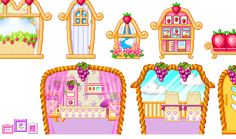 Cartoon World Fruit Theme